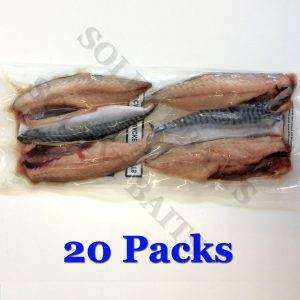 20 Packs of Mackerel Fillets
