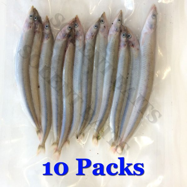 10 Packs of Sandeels