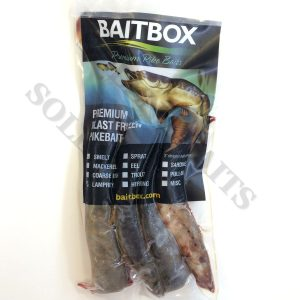 Frozen Lamprey Sea & Pike Fishing Bait