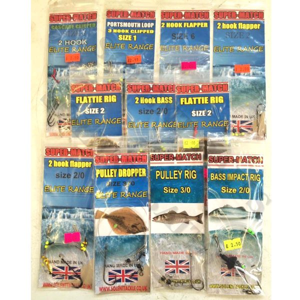 Solent Baits Sea Fishing Rigs
