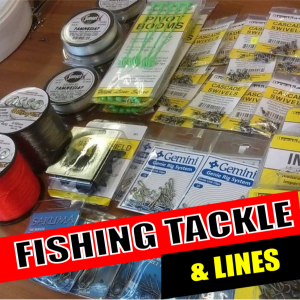FISHING TACKLE & LINES